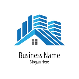 Huis logo illustratie