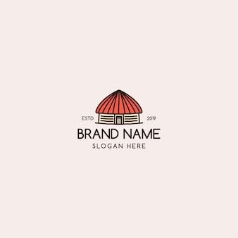 Huis logo vintage
