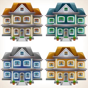 Huis pictogrammen