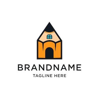 Huis potlood-logo