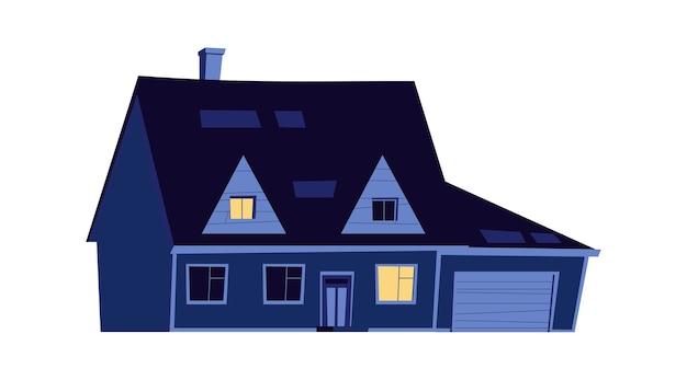 Huis 's nachts