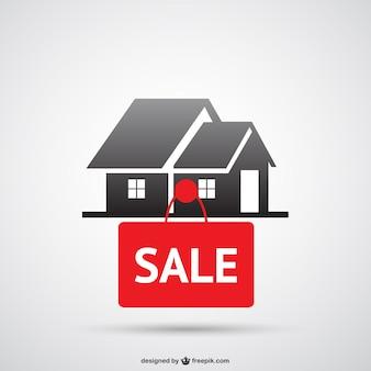 Huis te koop-logo
