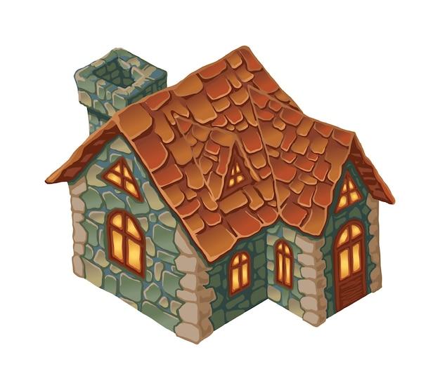 Huis voor gamescène,