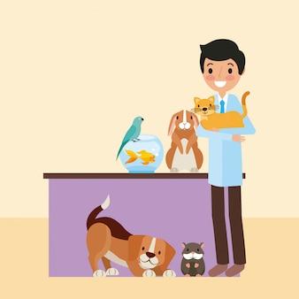 Huisdier en dierenarts