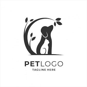 Huisdier logo ontwerp