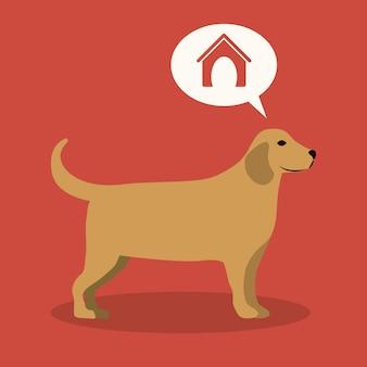 Huisdieren ontwerp