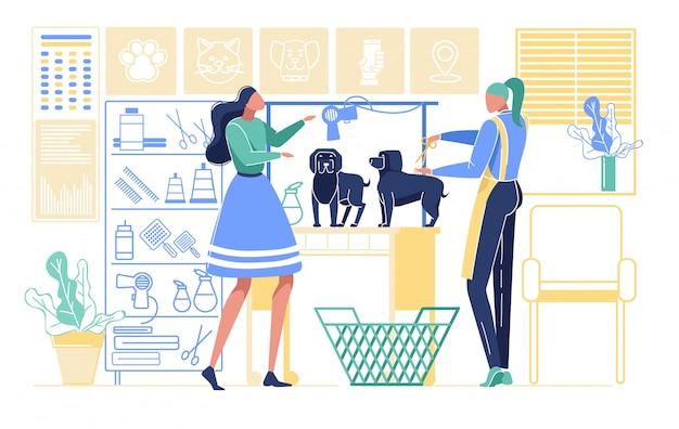 Huisdierkapsalon, styling grooming shop, dierenwinkel