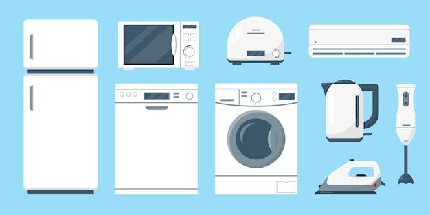 Huishoudelijke apparaten set