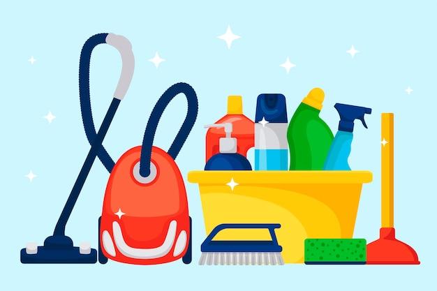 Huishoudelijke artikelen en schoonmaakproducten