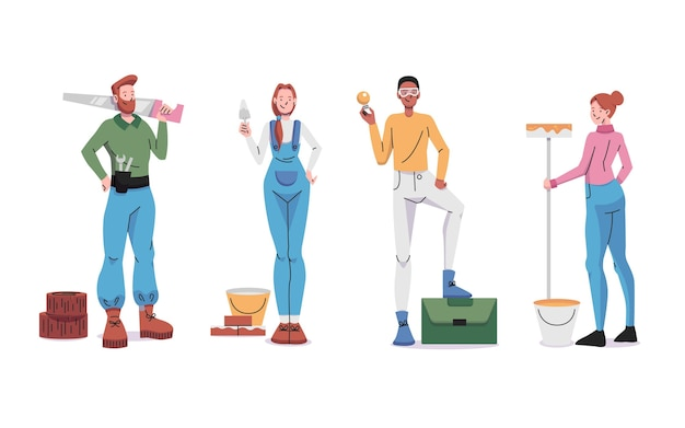 Huishoudelijke en renovatieberoepen