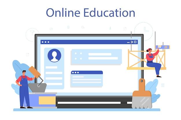 Huismuur stukadoor online service of platform set