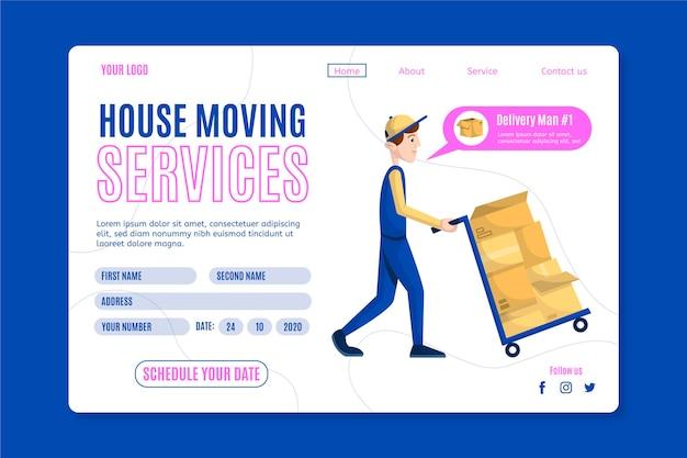 Huisverhuisservices - bestemmingspagina