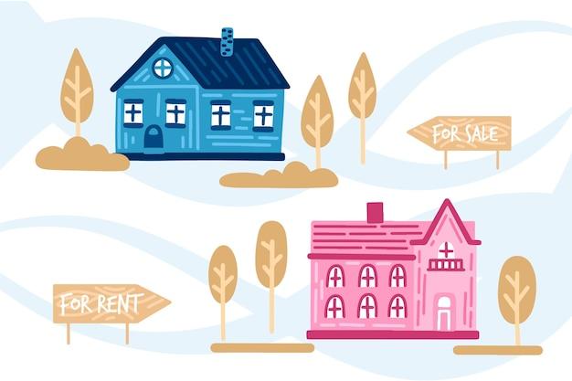 Huizen te koop en te huur pack