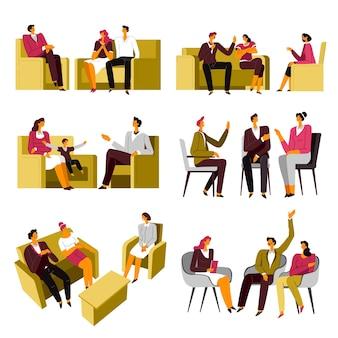 Hulp van de psychiatrie voor gezinnen en koppels