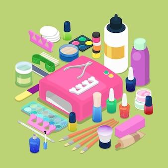 Hulpmiddelen voor manicure en pedicure