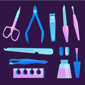 Hulpmiddelen voor manicure