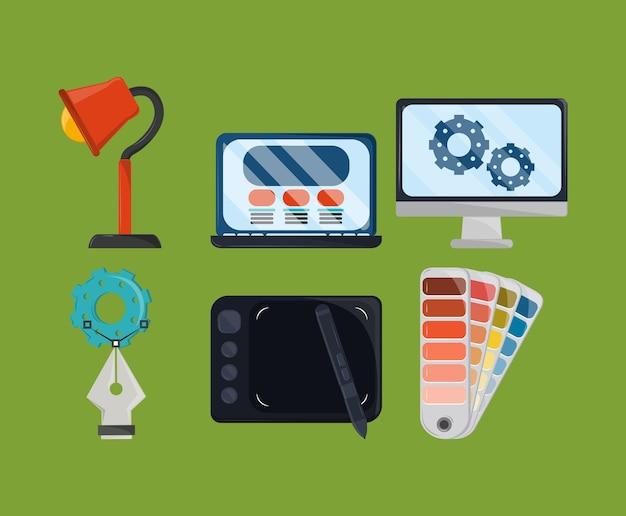 Hulpprogramma's voor webontwerp