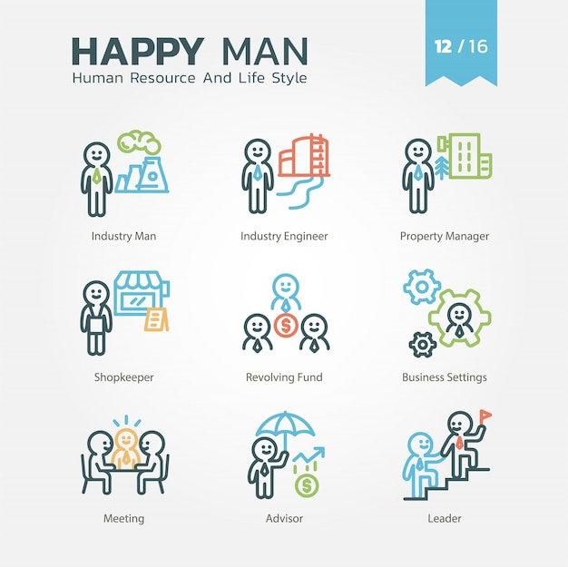 Human resource and lifestyle-verzameling vol.12 / 16