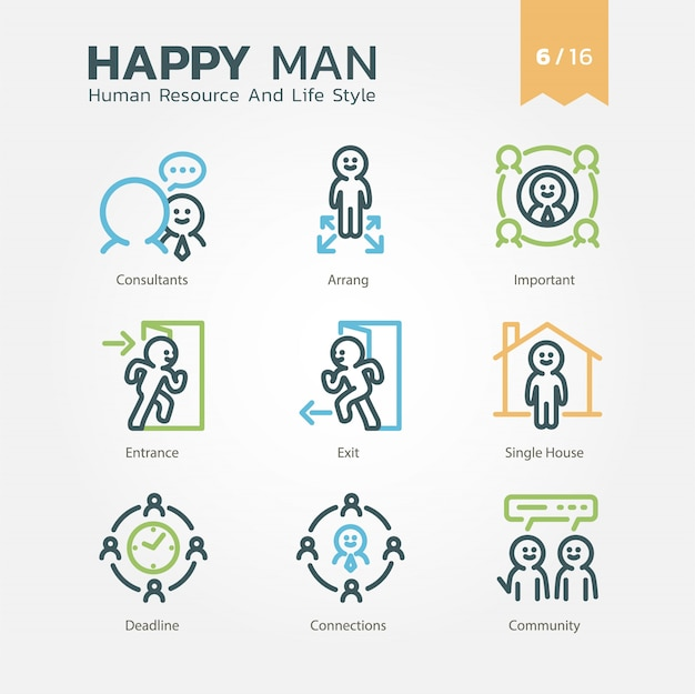 Human resource and lifestyle-verzameling vol.6 / 16