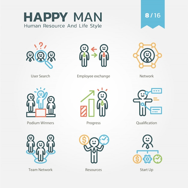 Human resource and lifestyle-verzameling vol.8 / 16