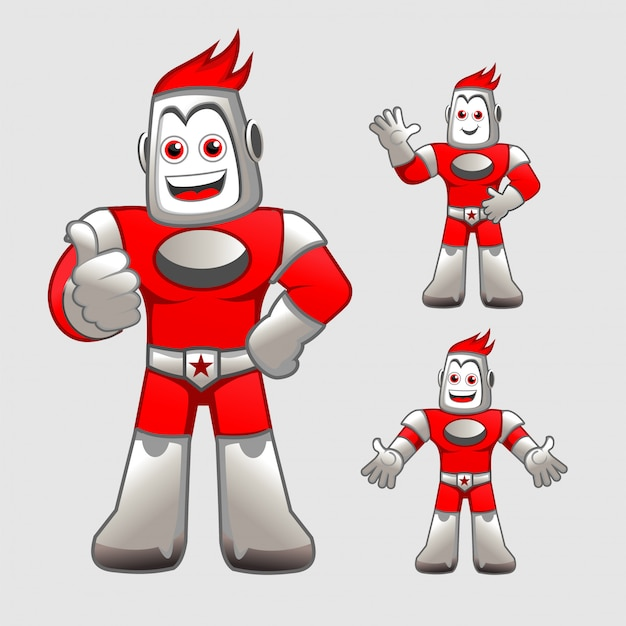 Humandroid-mascotte