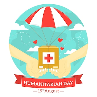 Humanitaire werelddag met hulp