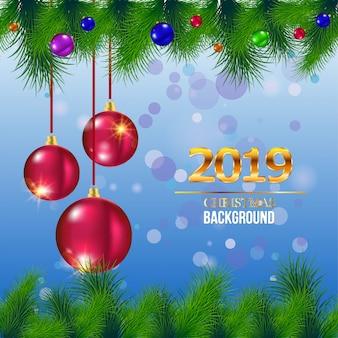 Huw kerstmis en nieuwjaarswenskaart