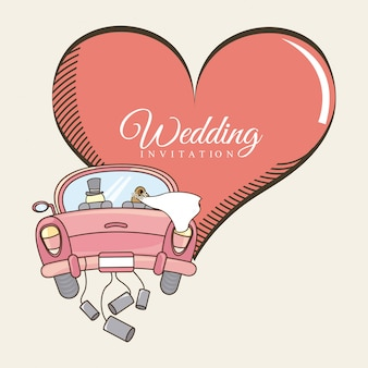 Huwelijksuitnodiging