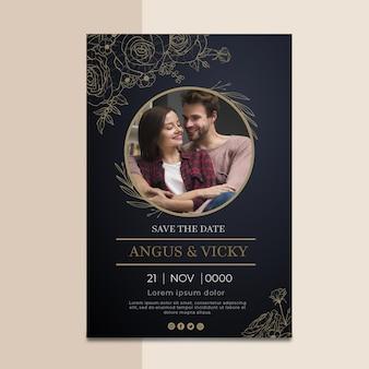 Huwelijksverjaardag kaart