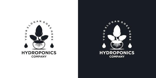Hydrocultuur logo inspiratie