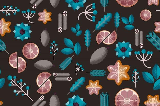 Hygge naadloos patroon