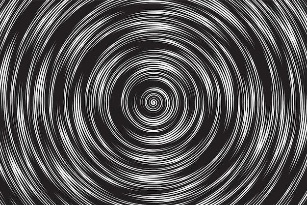Hypnotische spiraal vector abstracte achtergrond