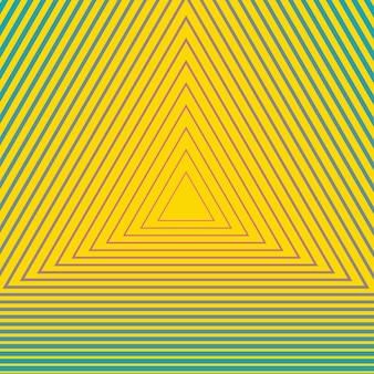 Hypnotiserend geometrisch patroon. creatieve en elegante stijlillustratie