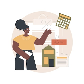 Hypotheeklening illustratie