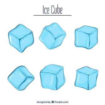 Ice cube achtergrond