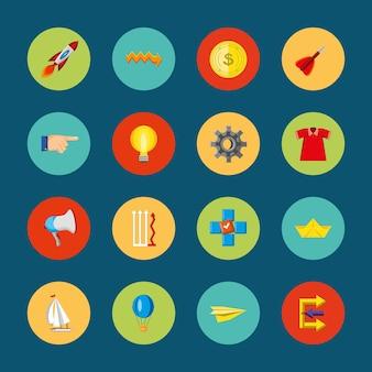 Icon set verstoren idee