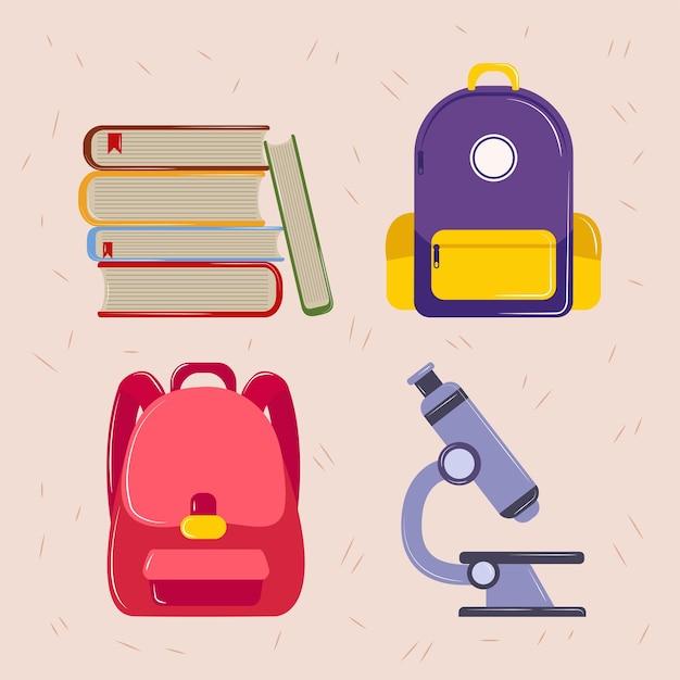 Iconen van school