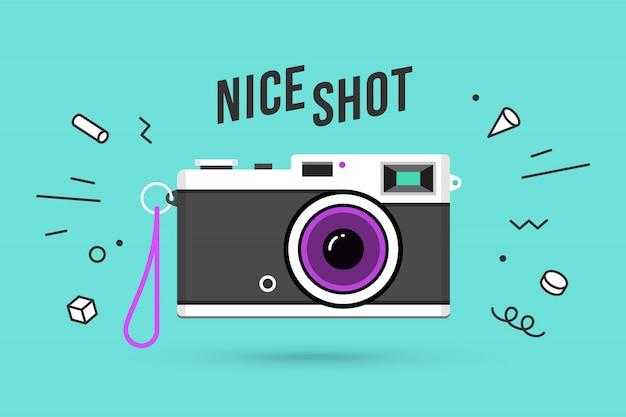 Icoon van fotocamera
