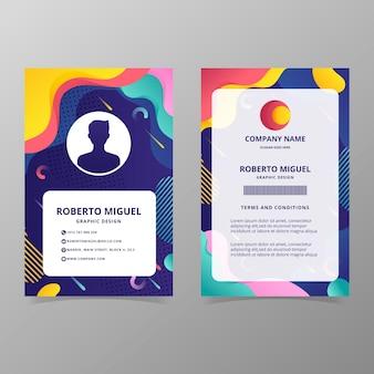 Id-kaartsjabloon