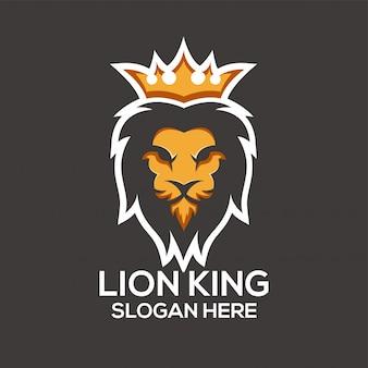 Ideen van het lion-logo