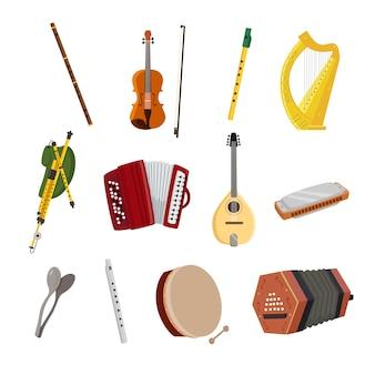 Ierse muziekinstrumenten