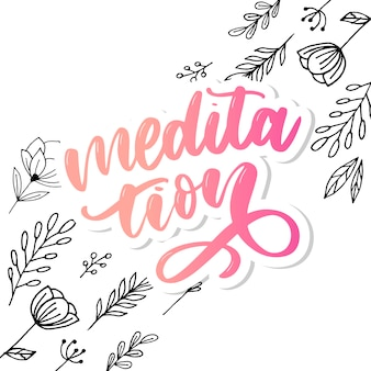 Iillustration of my therapy is meditatie.
