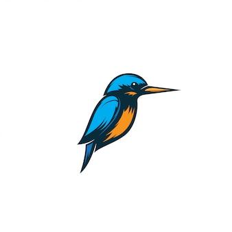 Ijsvogel vogel illustratie