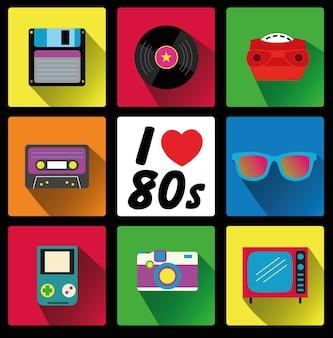 Ik ben dol op de jaren 80