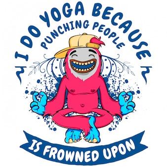 Ik doe yoga