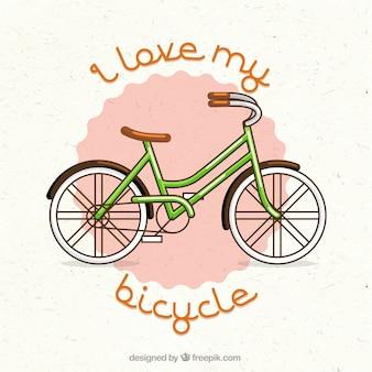 Ik hou van mijn fiets