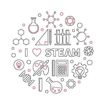 Ik hou van steam