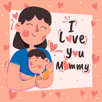 Ik houd van u mama