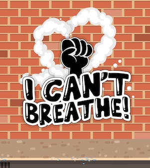 Ik kan geen lettertype ademen met brickwall achtergrond