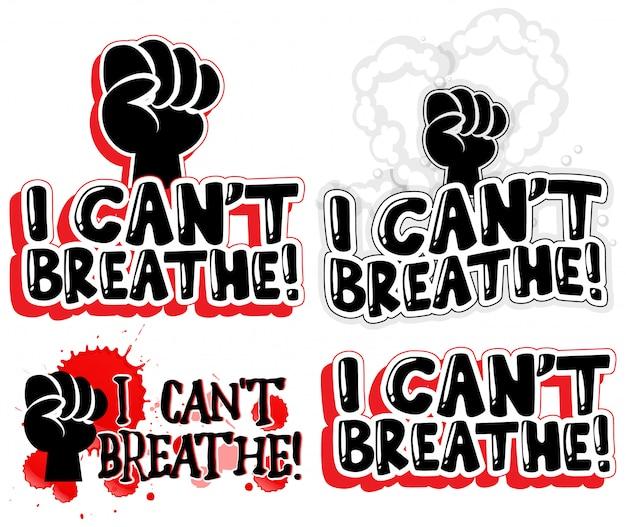 Ik kan geen tekstbannerset voor lettertypen ademen